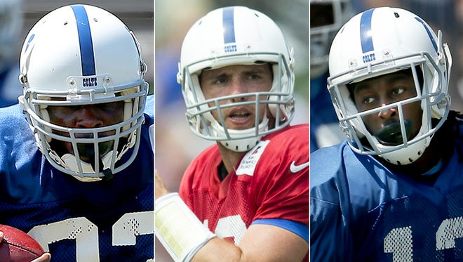 Frank Gore, Andrew Luck and T.Y. Hilton are considered the best value among Indianapolis Colts in fantasy football.