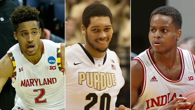 Maryland's Melo Trimble, Purdue's A.J. Hammons and IU's Yogi Ferrell figure to be among the Big Ten's top players this season.