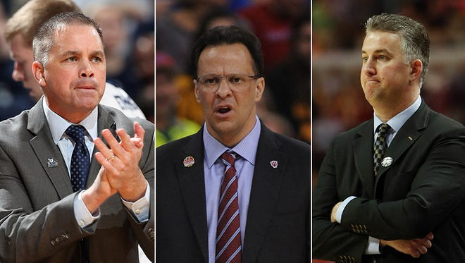 Chris Holtmann, Tom Crean and Matt Painter are expected to add new recruits during the early signing period.
