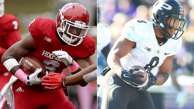 Indiana running back Jordan Howard was an All-Big Ten first team selection, and Purdue running back Markell Jones received honorable mention.