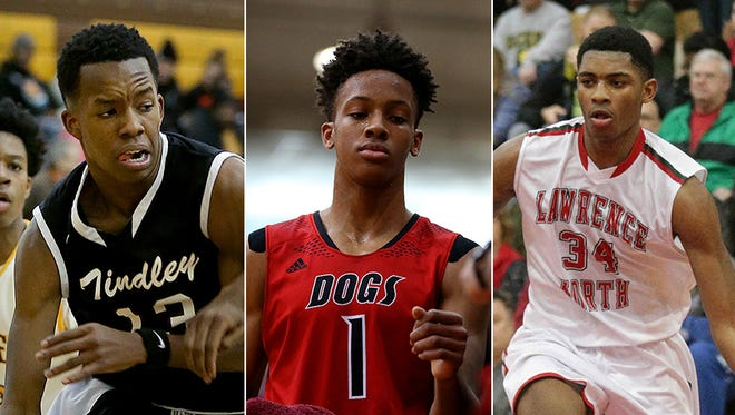 Eric Hunter, Romeo Langford and Kevin Easley have already caught the eye of college coaches.