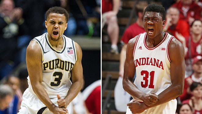 Purdue and IU could potentially meet in the Big Ten tournament's semifinals.