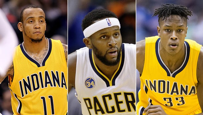 Monta Ellis, C.J. Miles and Myles Turner will be key to the Pacers' chances against Toronto.