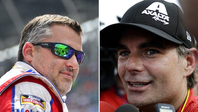 Tony Stewart and Jeff Gordon raced one more time at iconic Indianapolis Motor Speedway