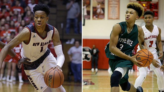New Albany's Romeo Langford and Lawrence North's Mike Saunders will be among those competing at Friday's Hall of Fame Classic in New Castle.