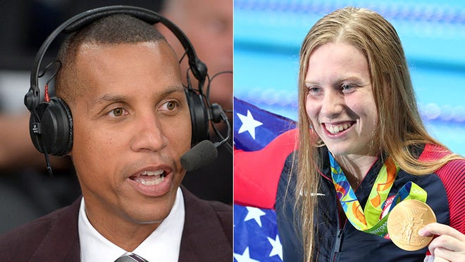 """Indiana Pacers legend Reggie Miller is hoping to soon meet his """"Olympic hero,"""" Lilly King."""
