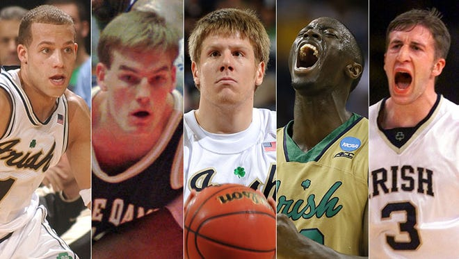 Notre Dame's best players from the past 25 years.