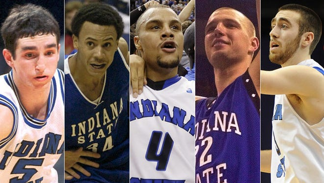 The top Indiana State basketball players of the past 25 years.