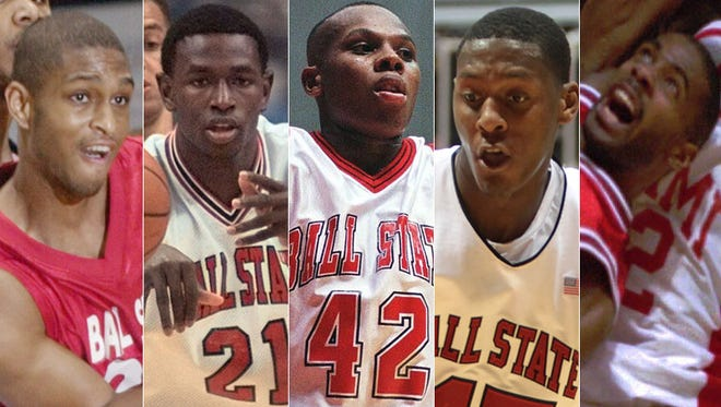 Who are the top basketball players of the past 25 years from Ball State?