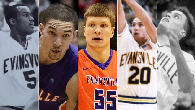 Who are the top Evansville players of the past 25 years?