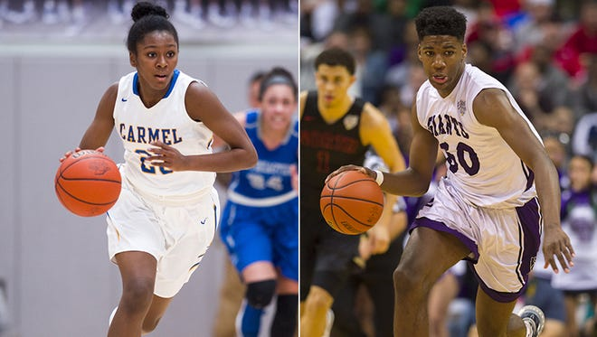 Jasmine McWilliams (left) and Aaron Henry (right) .