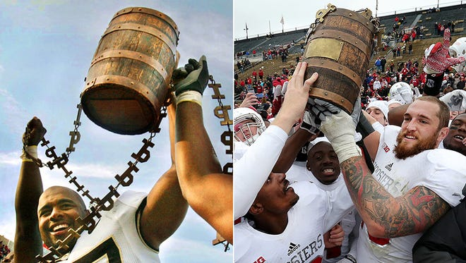 They've been playing for the Old Oaken Bucket since 1925.