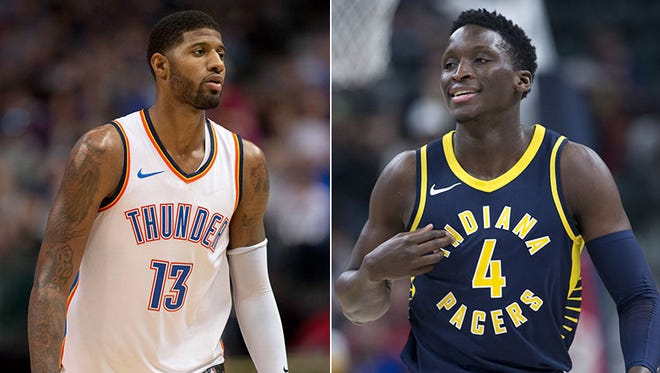 Victor Oladipo wants to stop being compared to Paul George. Well, we just couldn't help ourself.