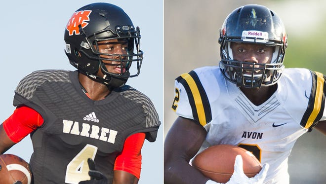 David Bell and Sampson James are two of the top area players in the Class of 2018.