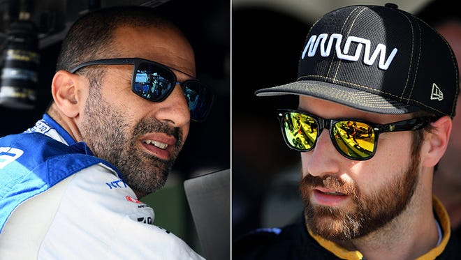 Tony Kanaan (A.J. Foyt Enterprises) and James Hinchcliffe (Schmidt Peterson Motorsports) could help their teams improve this season.