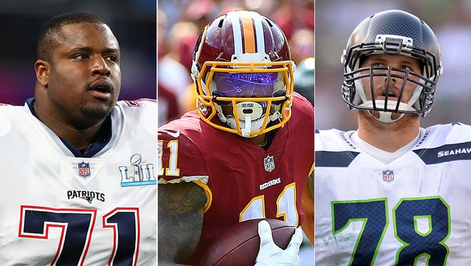 NFL free agency continues. Among those available are Cameron Fleming, Terrelle Pryor and Luke Joeckel.