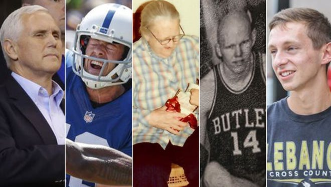 Doyel's columns through the year ranged from personal accounts to the Colts and high school features.