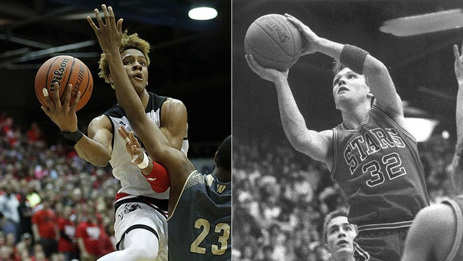 Romeo Langford and Damon Bailey's careers shared plenty of parallels.