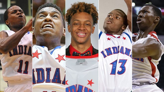 The Indiana All-Star teams over the years have provided plenty of memorable moments.