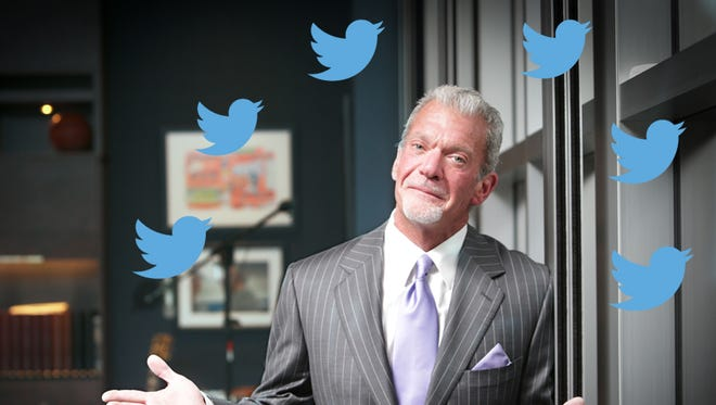 Colts owner Jim Irsay's Twitter embargo will be lifted soon.