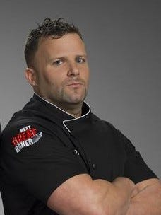 "Manny Agigian was a runner-up on ""Cake Boss: Next Great Baker'' last year, part of Team Black."