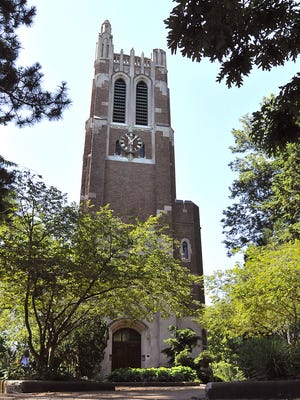 Beaumont Tower on the MSU campus.