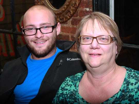 Tyler and Terri Danneburg. Stephanie Parshall/For The Enquirer