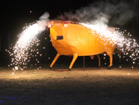Burning of the Bull