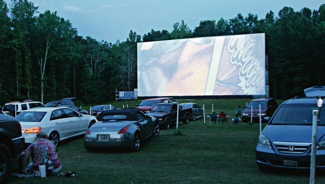 Drive-in movies are alive and well in Greenwood.