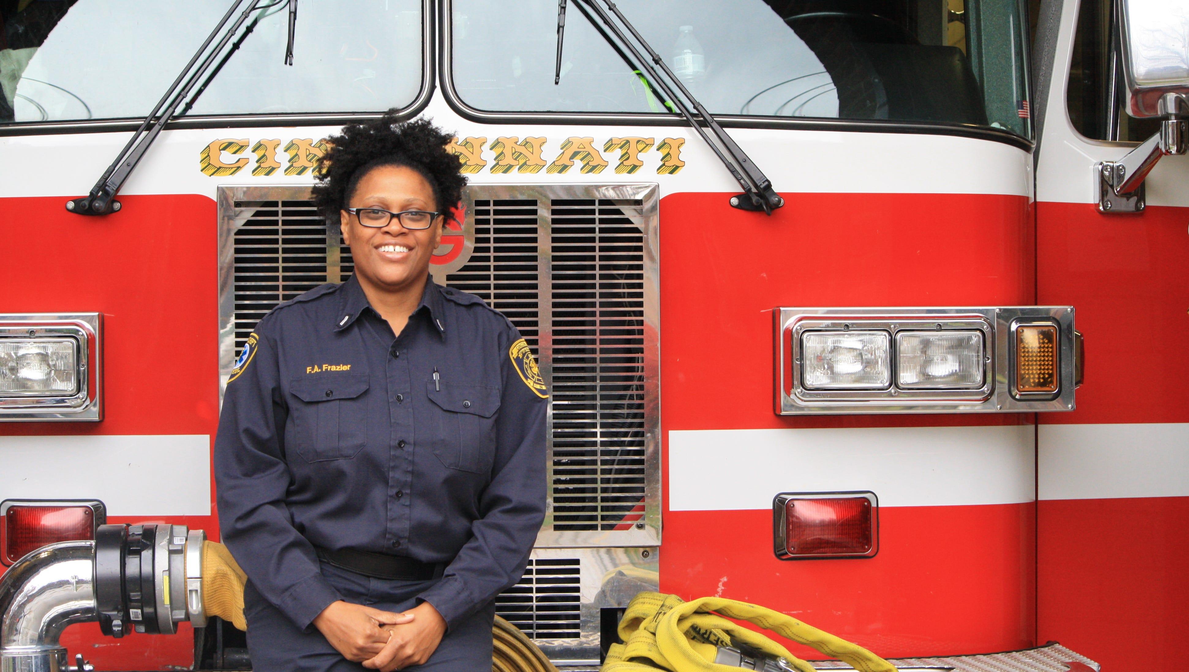 Q A With 1st Black Woman Lieutenant In Cincinnati Fire