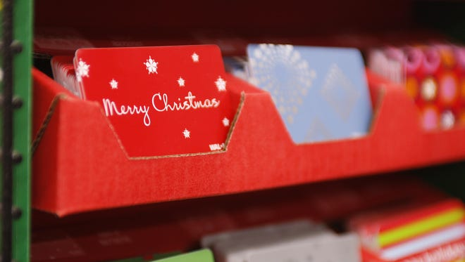 Earlier this year, the National Retail Federation estimated consumers would spend $26 billion on gift cards this holiday season.
