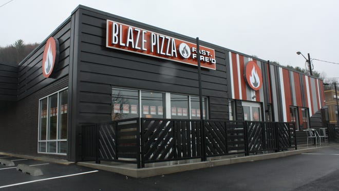 Blaze Pizza is located on 3714 Vestal Parkway in Vestal in the former location of the C.D. Daniel & Co. Jewelry Store.