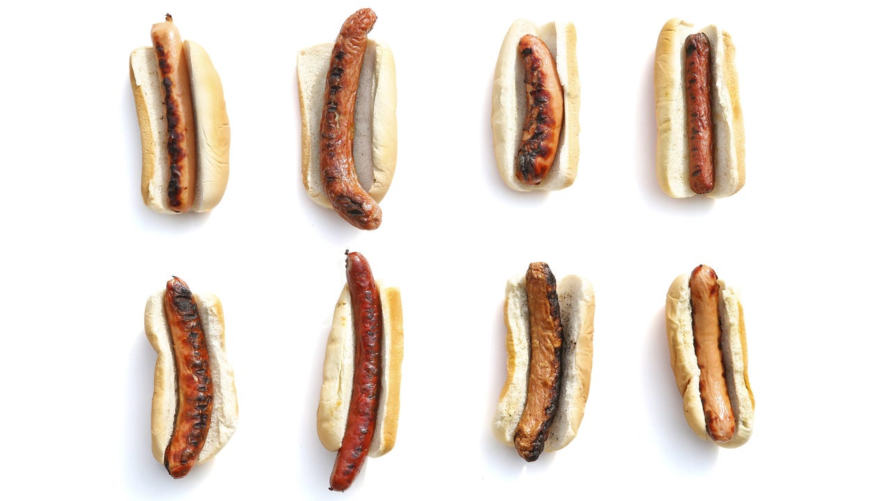 Hot dog taste test at the home of D&C reporter Tracy Schuhmacher. Video by Carlos Ortiz.