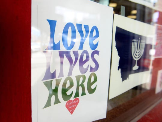 """Love Lives Here"" is a slogan that grew out of pushback"
