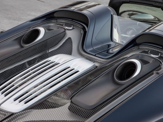 The 2015 Porsche 918 Spyder