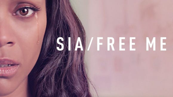 The cover artwork for Sia's new single 'Free Me.'