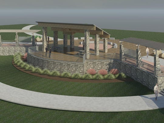 Construction is beginning in spring 2015 for the civic shelter portion of the Terra Lake project in Johnston.