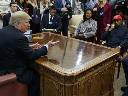 Donald Trump,Jared Kushner,Kanye West