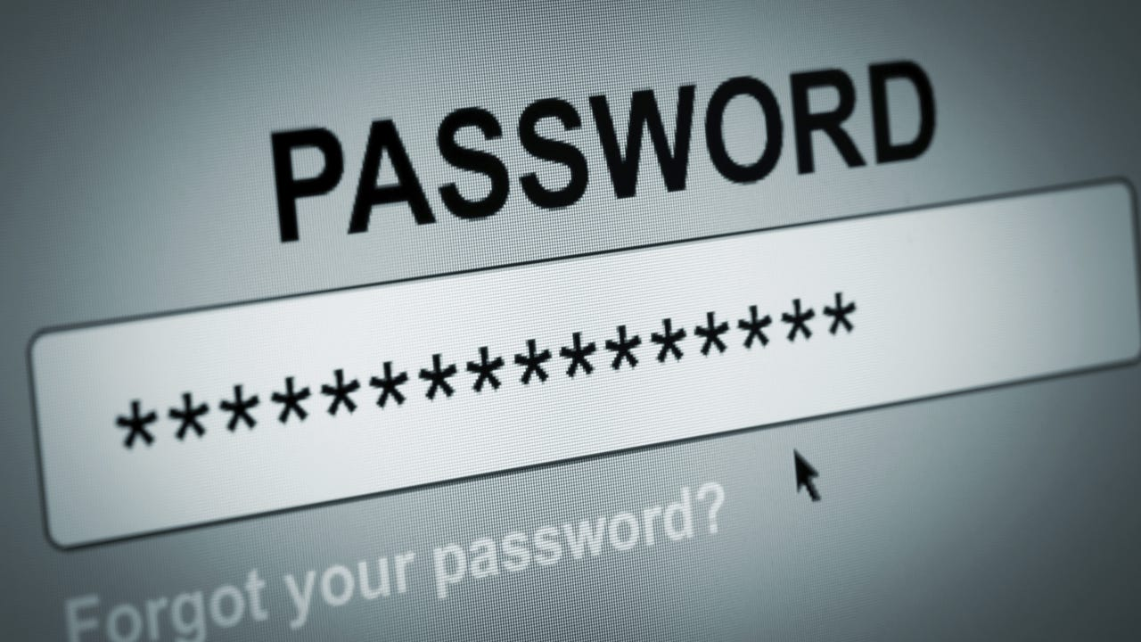 Five mistakes to avoid when creating a password
