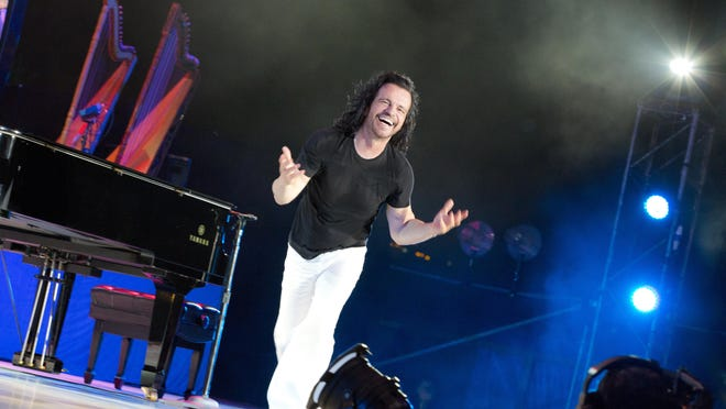Renowned composer and multi-instrumentalist Yanni brings his North American tour to Lafayette at 7:30 p.m. Thursday at the Heymann Performing Arts Center.