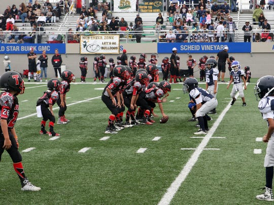 Teams from as far south as King City and as far north as Watsonville play in the 12-team MBYFL.
