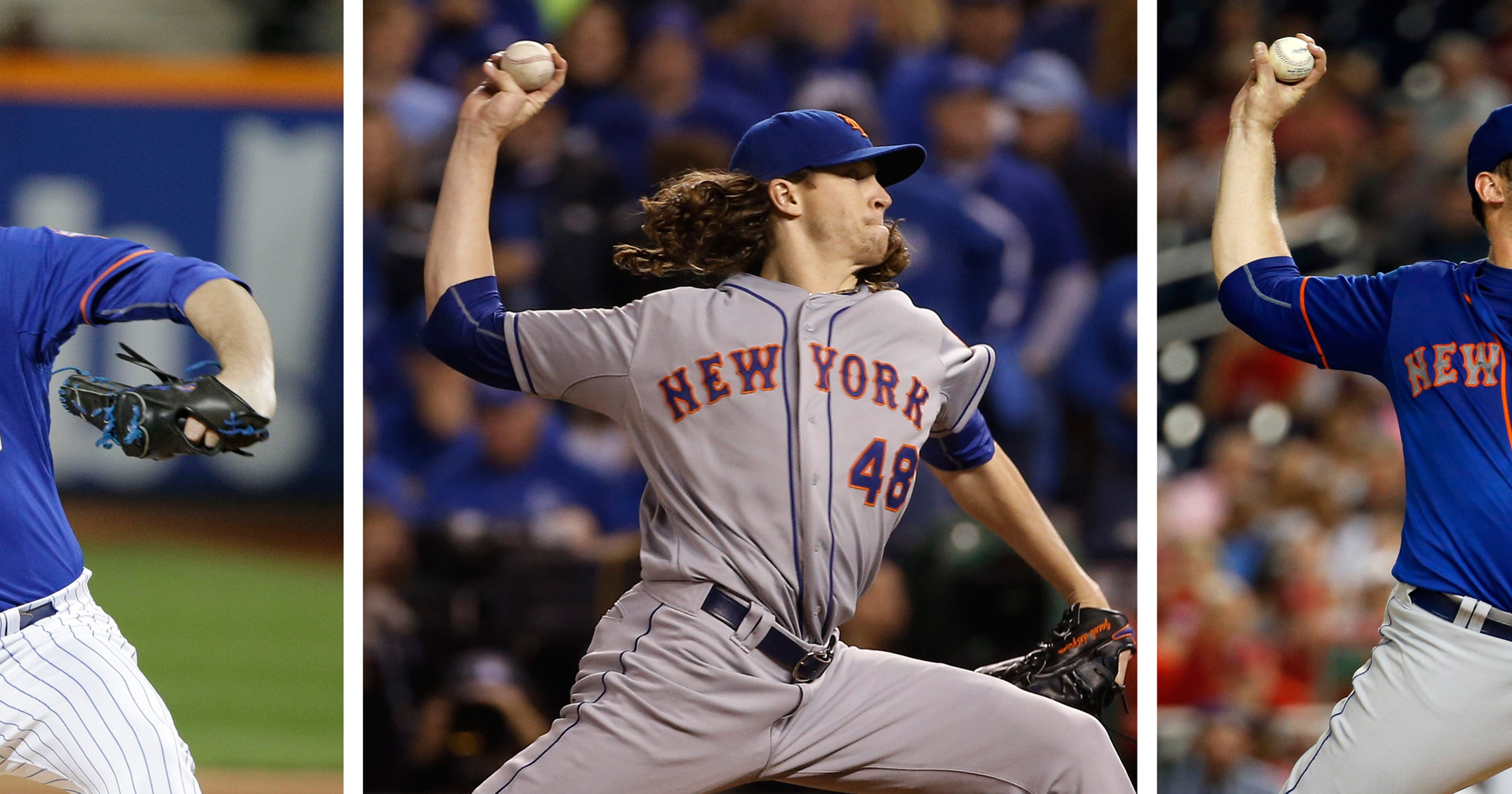 14fcd6d1c Fashion show  Mets pitchers pick uniform when they start