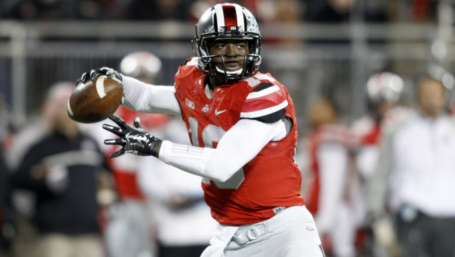 Ohio State quarterback J.T. Barrett leads the Big Ten in pass efficiency, but he hasn't faced a challenge as daunting as this.