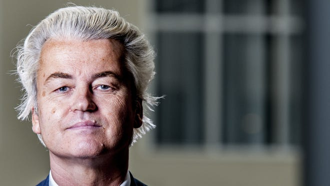 Geert Wilders will represent the rightist Party For Freedom in the  March 15 elections in The Netherlands.