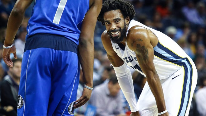 The Grizzlies are 5-20 without Mike Conley in the lineup.