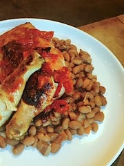 Baked Chicken and Beans from David Traina of Liberty Market.