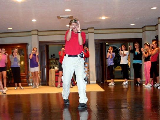 Terri Brown teaches more than 60 sorority members to