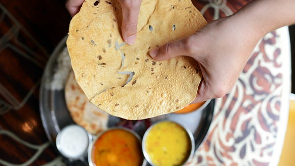 Break papadum with Chai Pani on Friday.