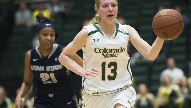 CSU guard Ellen Nystrom has been named the Mountain West Player of the Week.