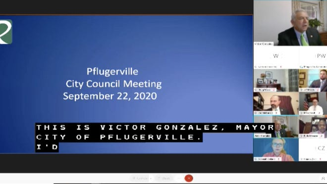 The Pflugerville city council met virtually Tuesday night and passed a bond refund that will save the city $11 million. The council also passed several contracts including for the design of an emergency generator power system at the water treatment plant and lake pump station